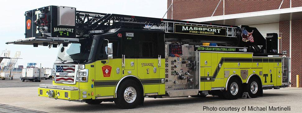 Massport Fire-Rescue Truck 1 courtesy of Michael Martinelli