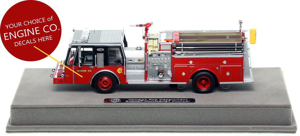 We will apply your Engine Co. door decals for you!