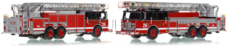 Chicago's 2002 Truck 26 is hand-crafted and intricately detailed.