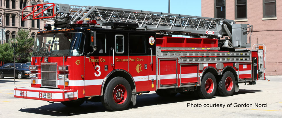 Chicago Fire Department Truck 3 courtesy of Gordon Nord