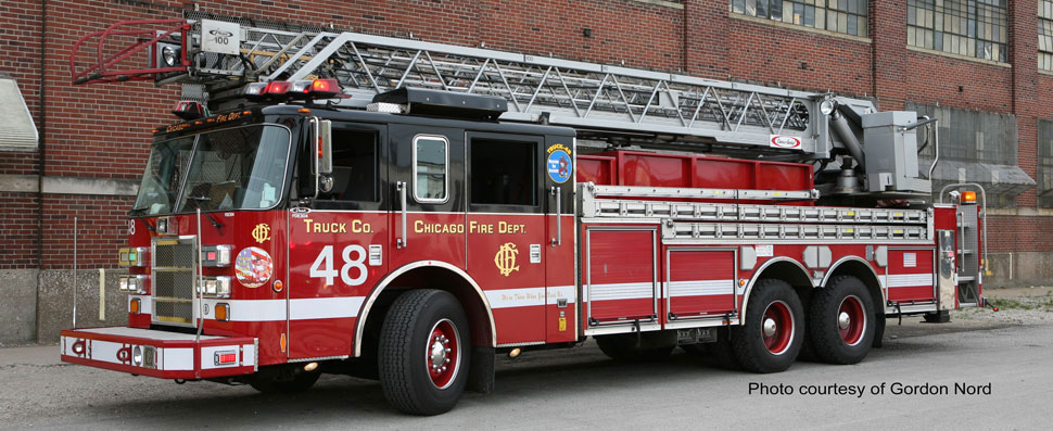 Chicago Fire Department Truck 48 courtesy of Gordon Nord
