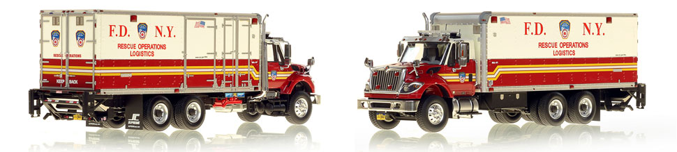 1:50 museum grade scale model of FDNY Rescue Operations Logistics 1
