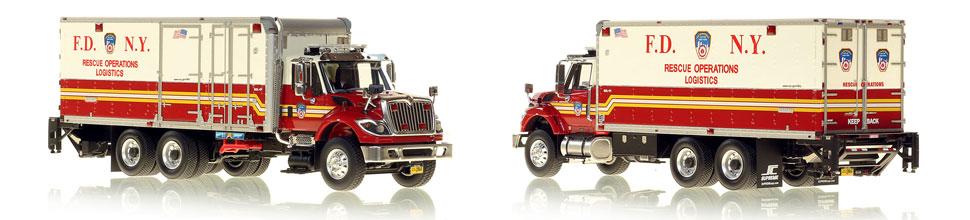 FDNY Rescue Operations Logistics 1 scale model