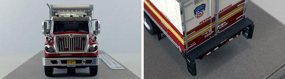Closeup pics 13-14 of FDNY Rescue Operations Logistics 2 scale model