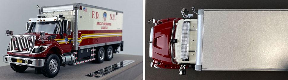 Closeup pics 7-8 of FDNY Rescue Operations Logistics 2 scale model