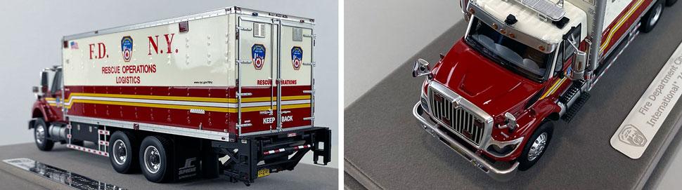 Closeup pics 9-10 of FDNY Rescue Operations Logistics 2 scale model