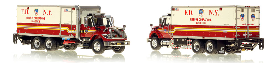 1:50 museum grade scale model of FDNY Rescue Operations Logistics 2