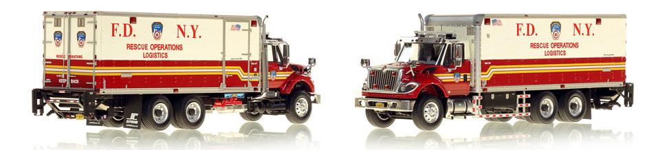FDNY Rescue Operations Logistics 2 scale model