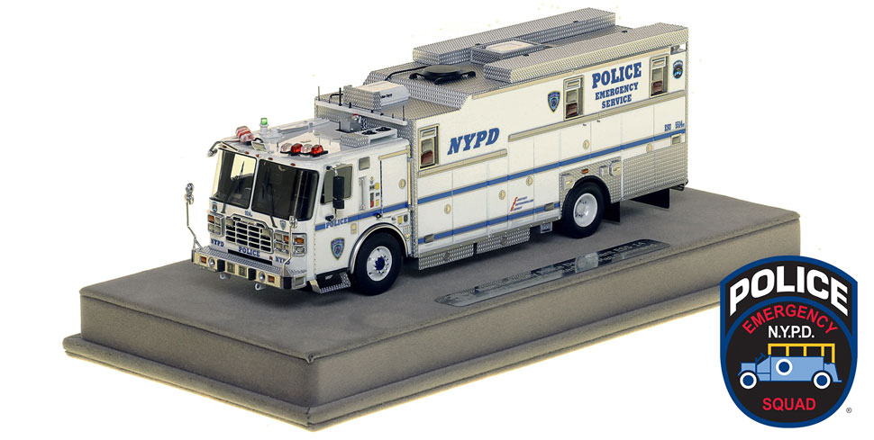 NYPD ESS 14 Haz-Mat Command 1:50 scale model