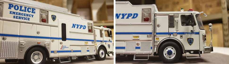 Closeup pictures 5-6 of NYPD HazMat Command ESS 14 scale model