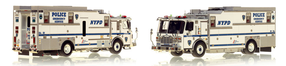NYPD ESS 14 Haz-Mat Command Unit scale model