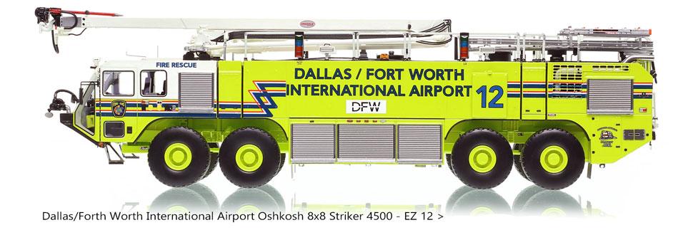 DFW EZ 12 Oshkosh 8x8 Striker is limited to only 50 units!