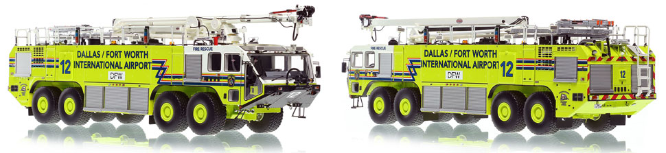 Dallas/Fort Worth EZ 12 Oshkosh Striker 8x8 is hand-crafted and intricately detailed.