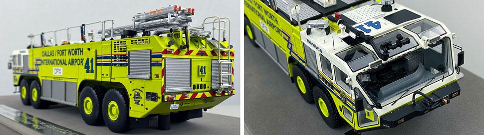 Closeup pictures 3-4 of Dallas/Fort Worth EZ 41 Oshkosh Striker 8x8 scale model