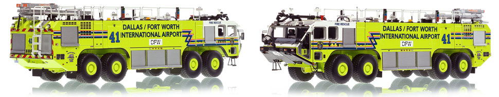 Dallas/Fort Worth EZ 41 Oshkosh Striker 8x8 is hand-crafted and intricately detailed.