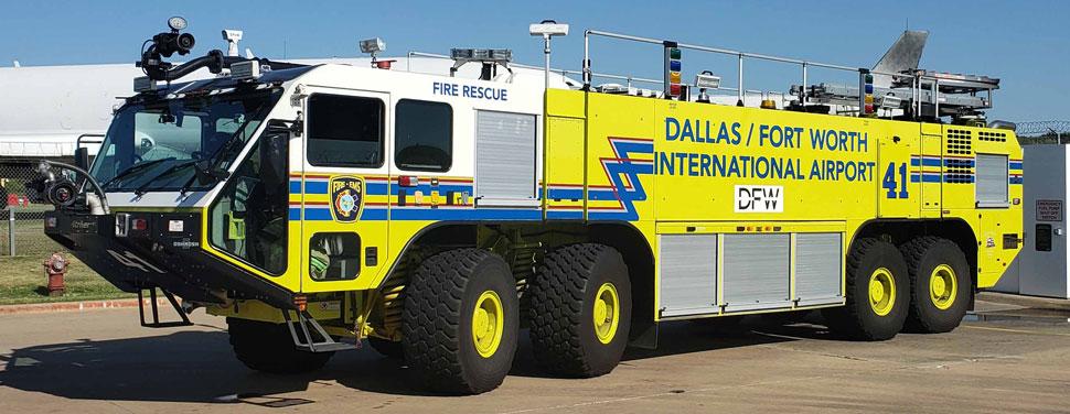 Dallas/Fort Worth EZ 42 Oshkosh 8x8 Striker 4500
