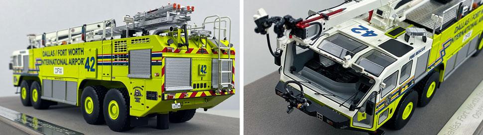 Closeup pictures 7-8 of Dallas/Fort Worth EZ 42 Oshkosh Striker 8x8 scale model