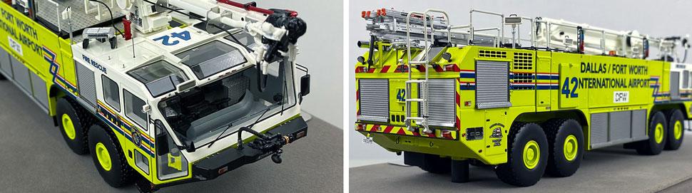 Closeup pictures 11-12 of Dallas/Fort Worth EZ 42 Oshkosh Striker 8x8 scale model