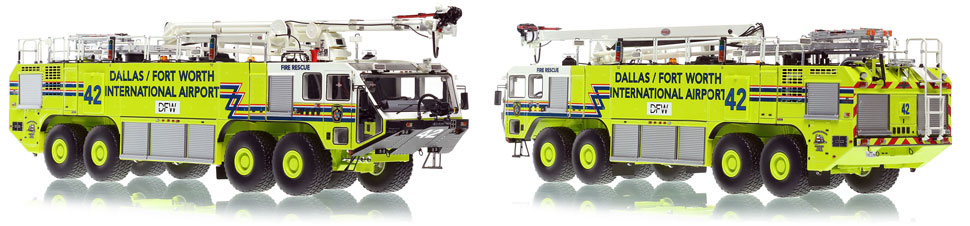 Dallas/Fort Worth EZ 42 Oshkosh Striker 8x8 is hand-crafted and intricately detailed.