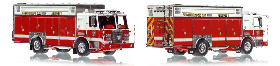 Washington DC Fire & EMS KME Air Unit 1 scale model