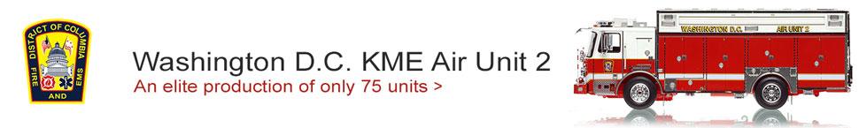 D.C. Fire & EMS KME Air Unit 2 scale model