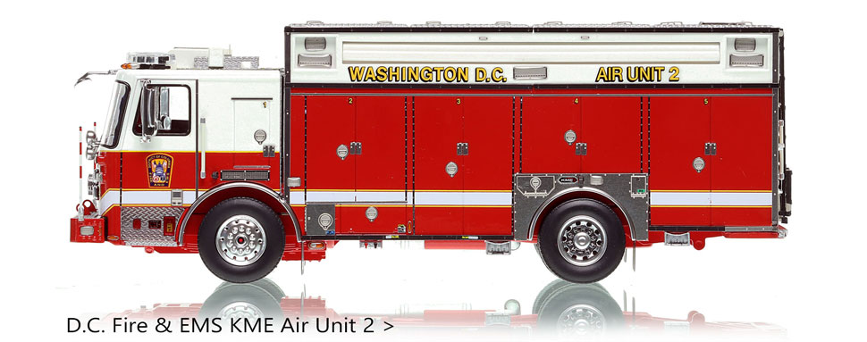 D.C. Fire & EMS Air Unit 2 scale model