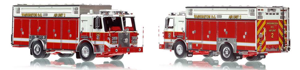 Washington DC Fire & EMS KME Air Unit 2 scale model