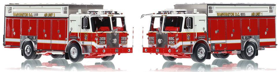 All new DC Fire & EMS KME Air Unit scale models