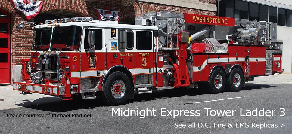 Shop D.C. Fire & EMS scale model fire trucks