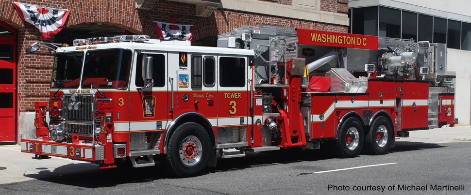 DC Fire & EMS Midnight Express Tower 3 courtesy of Michael Martinelli