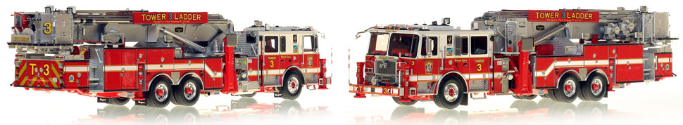 Midnight Express Tower 3 is the first museum grade scale model for DC Fire and EMS