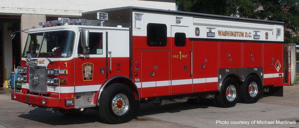 Washington D.C. Fire & EMS HazMat 1