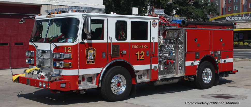 DC Fire & EMS Engine 12 courtesy of Michael Martinelli