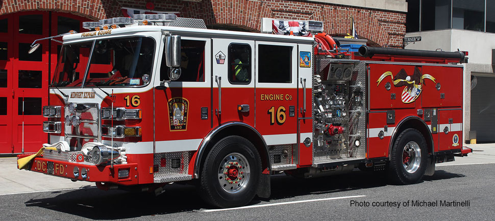 DC Fire & EMS Engine 16 courtesy of Michael Martinelli