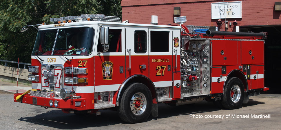 DC Fire & EMS Engine 27 courtesy of Michael Martinelli