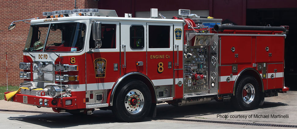 DC Fire & EMS Engine 8 courtesy of Michael Martinelli