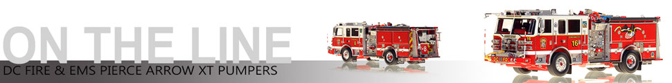 Assembly pics of Washington DC Fire & EMS Engine scale models