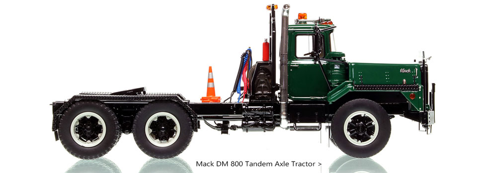 Order your Mack DM 800 in green over black today!