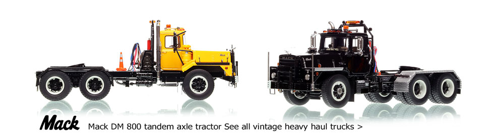 See all the 1:50 scale classic semi-trucks