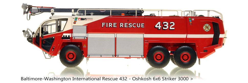 Order your BWI Rescue 432 Oshkosh 6x6 Striker 3000!