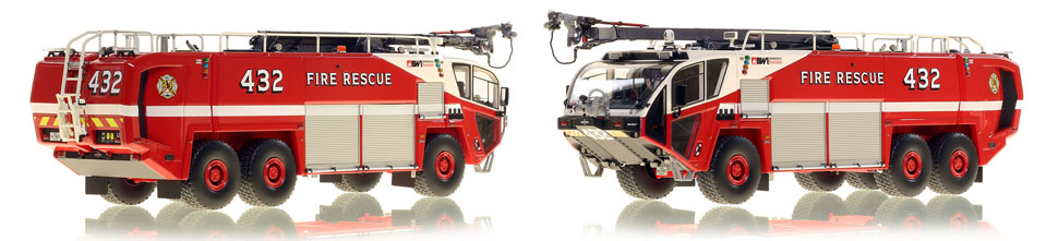 Baltimore Washington Fire and Rescue 432 is hand-crafted and intricately detailed.