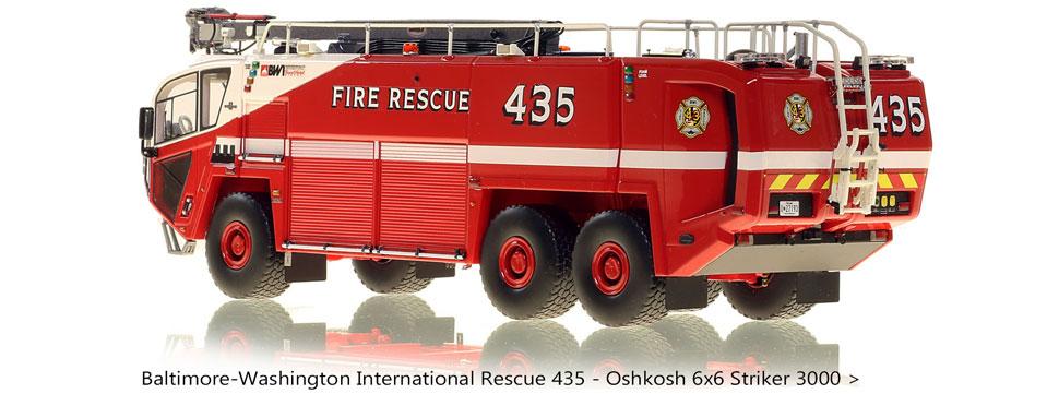 Order your BWI Rescue 435 Oshkosh 6x6 Striker 3000!