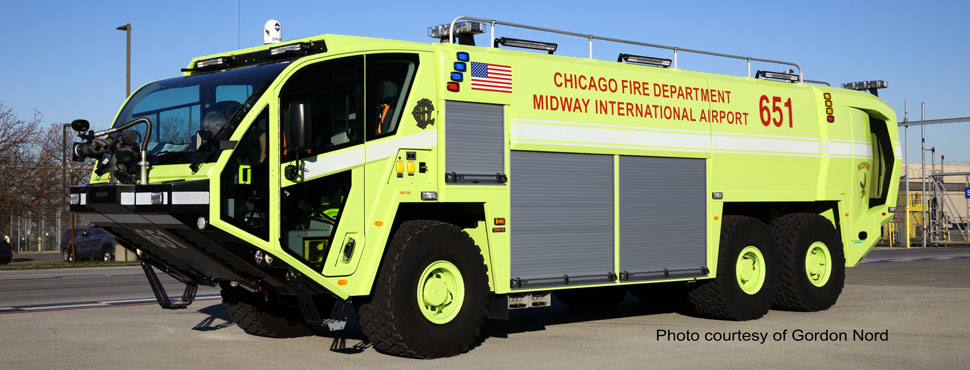 Chicago Fire Department ARFF 651 of Midway International Airport