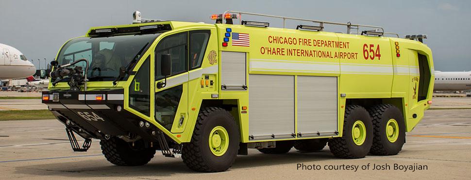 Chicago O'Hare ARFF 654 courtesy of Josh Boyajian