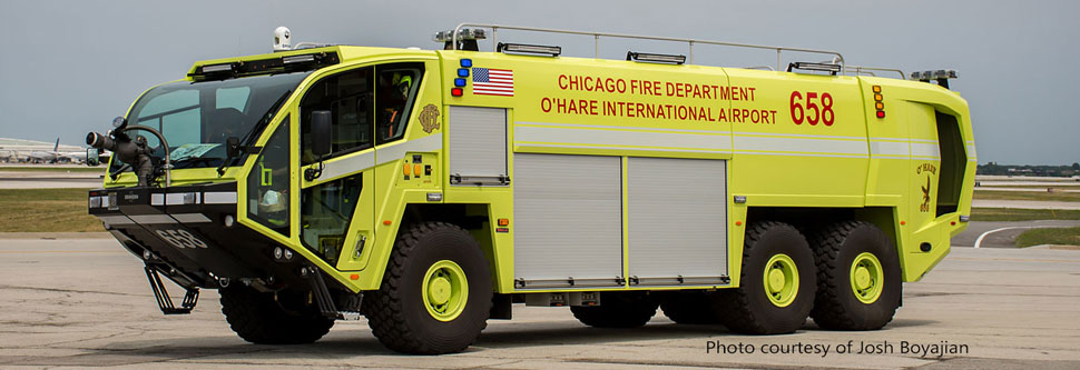 Chicago O'Hare ARFF 658 courtesy of Josh Boyajian