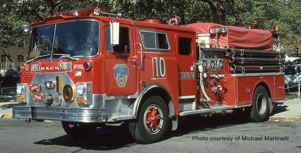 FDNY 1983 Mack CF Engine 10 courtesy of Michael Martinelli