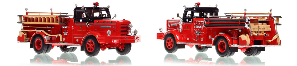 The first museum grade scale model of Chicago's Classic FWD Engine 45