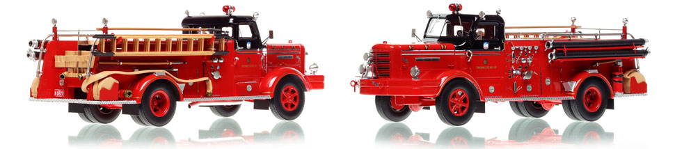 Chicago FWD Engine 45 scale model is hand-crafted and intricately detailed.