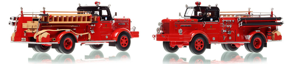 The first museum grade scale model of Chicago's Classic FWD Engine 61