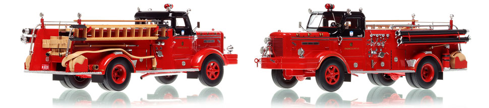 Chicago FWD Engine 66 scale model is hand-crafted and intricately detailed.